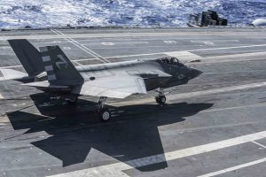 US Navy Tests New F-35C Lightning II Fighter Jet
