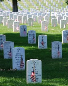 Graves_at_Arlington_on_Memorial_Day