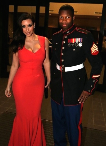 Top 4 Celebrity Dates At Marine Ball Star Spangled Flags