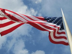 Can You Fly the American Flag During Bad Weather?