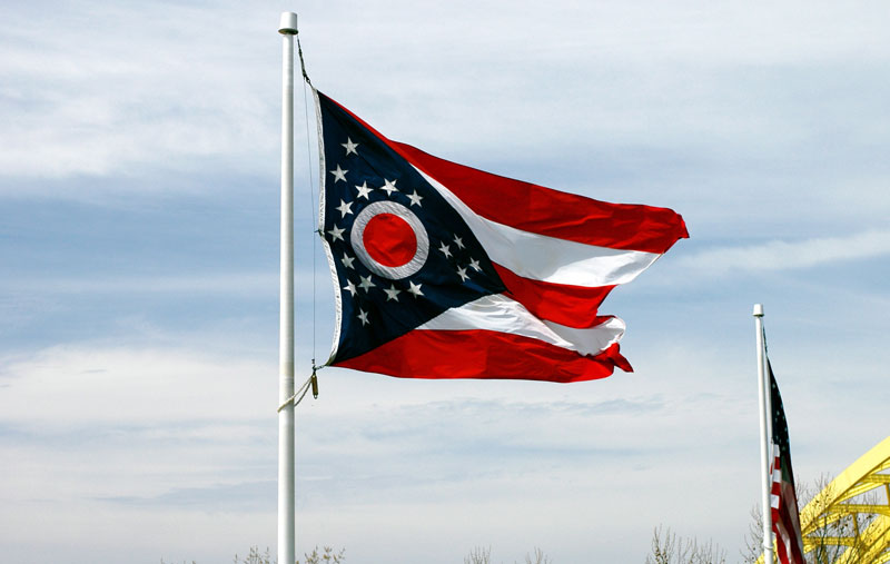 Buy Ohio State Flag For Sale Online Star Spangled Flags