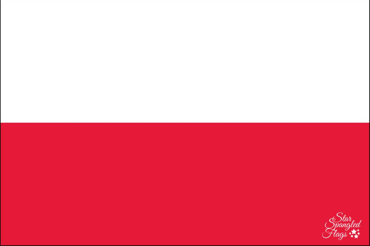 Buy Poland National Flag for Sale Online - Star Spangled Flags